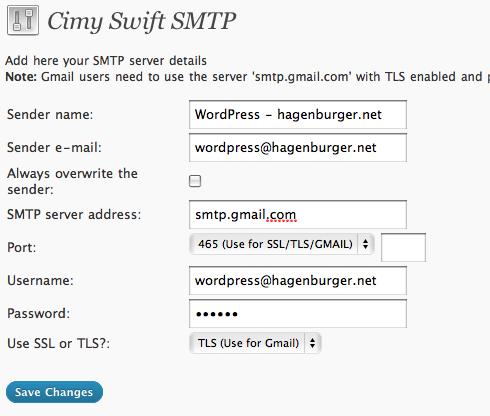 How to use GMail with WordPress ··· Nico Hagenburger