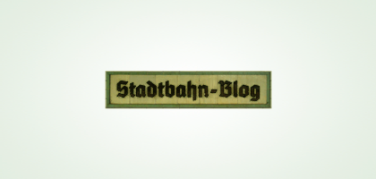 Stadtbahn-Blog – Logo design by Nico Hagenburger